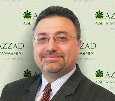 Bashar Qasem is the founder and CEO of Azzad Asset Management.