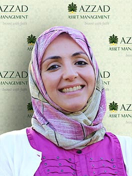 Maha is a Qualified Plan Financial Consultant with Azzad Asset Management. She works primarily with plan sponsors (employers) and participants servicing a full range of small business retirement plans.
