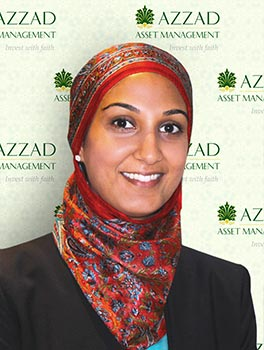Fatima Iqbal is an investment advisor and senior financial planner with Azzad Asset Management.
