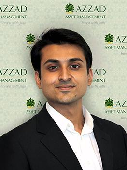 Atta Khan is a client service associate at Azzad Asset Management.