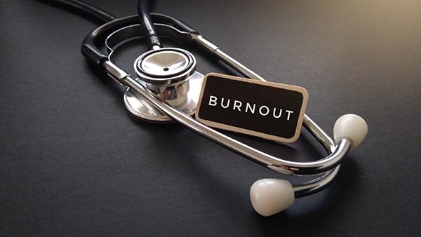 doctor burnout concept