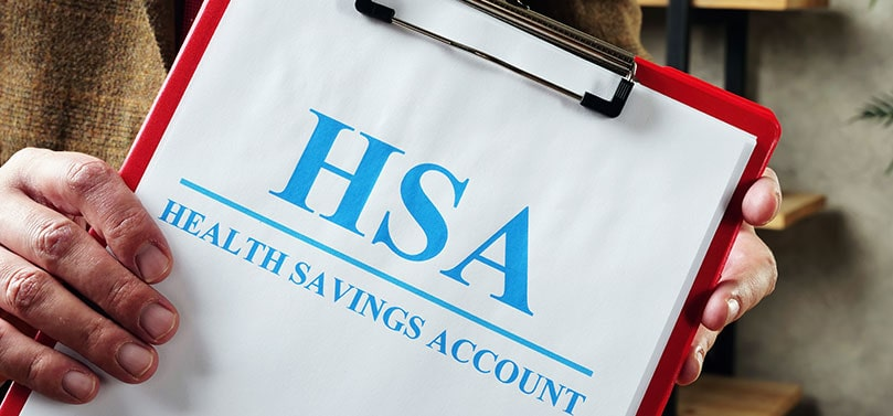 """Azzad Asset Management - An HSA has 3 tax benefits, not found in any other account type. First, contributions are tax-deductible. Second, there is no taxation on funds while they are growing in the account, and third, distributions taken for qualified medical expenses are tax-free. That's a sweet deal! An HSA essentially offers you the tax-deduction and tax-deferral of a 401K combined with the tax-free withdrawal on earnings (used for qualified expenses) of a Roth IRA. Like these accounts, there are eligibility rules for who is qualified to contribute and what you can spend the money on. Similarly, you can invest your HSA in one of Azzad's investment products. Here's how an HSA works: each year, you decide how much you want to contribute to your account (up to the IRS maximum limits). You can use the funds in your account to pay for eligible medical expenses not covered by your plan (note: insurance premiums aren't eligible). Unlike a Flexible Spending Account (FSA), your balance rolls over from year to year, so you never have to worry about losing your savings. Plus, once you reach age 65, you can withdraw from your HSA for any reason. Of course, you'll pay taxes on distributions used for non-medical expenses, but no penalty. You never pay a penalty on any distributions after age 65. To qualify for an HSA, you must be enrolled in a high-deductible health insurance plan (HDHP) as defined by the IRS every year. The IRS determines the minimum deductible your plan must have and the maximum amount you can spend out-of-pocket. If in doubt, ask your insurance broker if your plan is """"HSA-eligible"""". Once you're over age 65 and enrolled in Medicare, you are no longer eligible to contribute to an HSA. Of course, you can still use your funds to pay for out-of-pocket medical expenses. Your HSA continues to offer you powerful tax benefits, including more flexibility with your tax and penalty-free distributions. Navigating HSAs can be confusing, so give us a call to find out if a"""